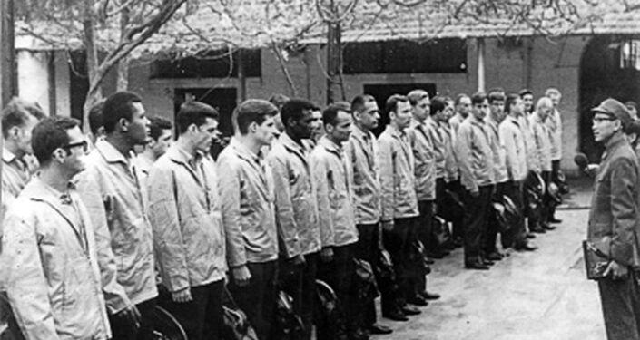 US pilots taken prisoner in December 1972