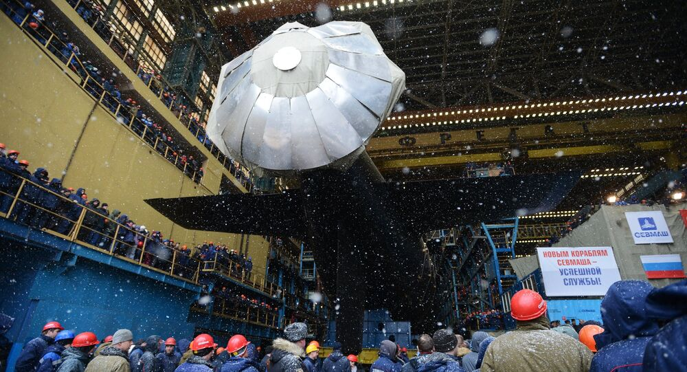 Yasen-class project 885M submarine, the Kazan, has been floated out at the Sevmash shipbuilder in northwestern Russia