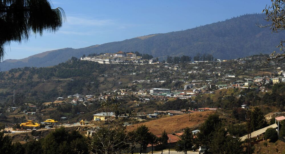 A view of Tawang town. (File)