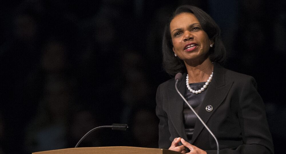 Former United States Secretary of State Condoleezza Rice. (File)