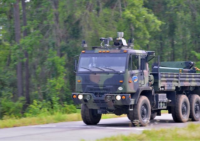 Lockheed's Driverless Vehicle