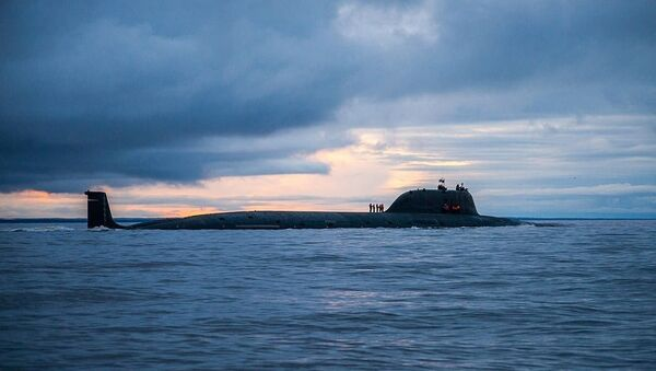 The nuclear-powered submarine Severodvinsk, the first of the Yasen-class of attack subs. - Sputnik International