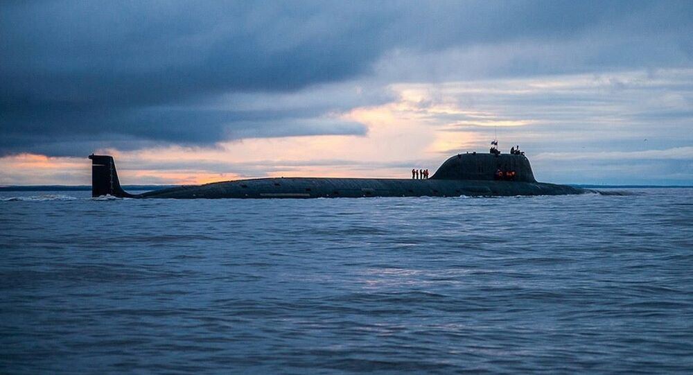 The nuclear-powered submarine Severodvinsk, the first of the Yasen-class of attack subs.