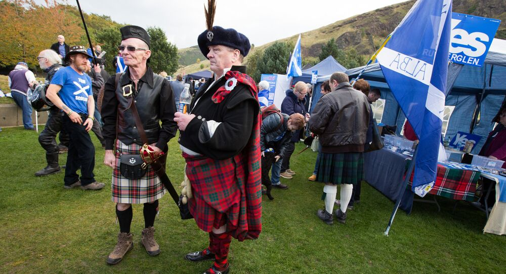 March and rally for Scotland's independence in Edinburgh (File)
