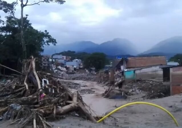 Avalanche Tragedy In Mocoa, Columbia