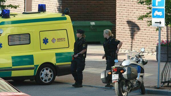 Police and ambulance personnel, Sweden (File) - Sputnik International