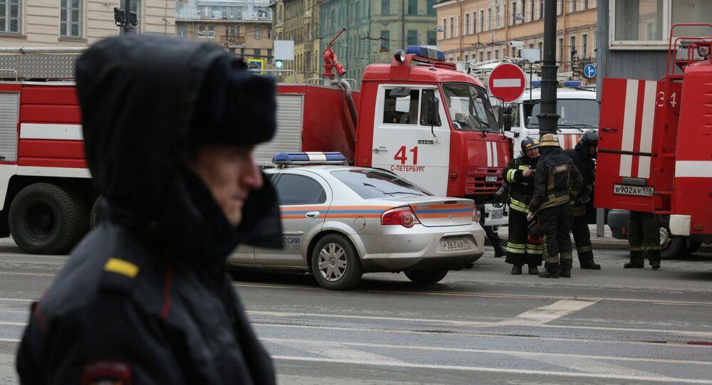 Explosions in St. Petersburg metro
