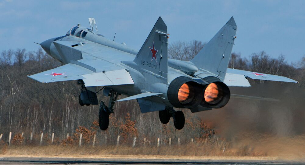 The MIG-31 interceptor jet