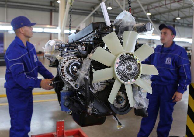 Plant manufacturing Hyundai trucks in Kaliningrad Region