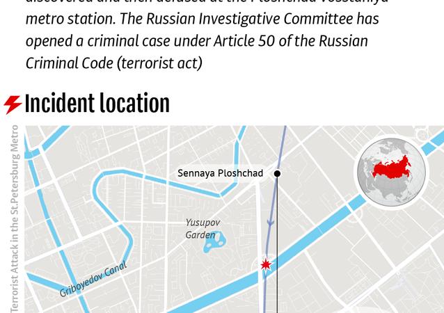 Terrorist Attack in St.Petersburg Metro
