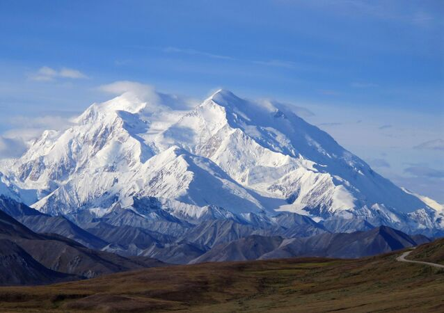 Mount McKinley in Denali National Park, Alaska