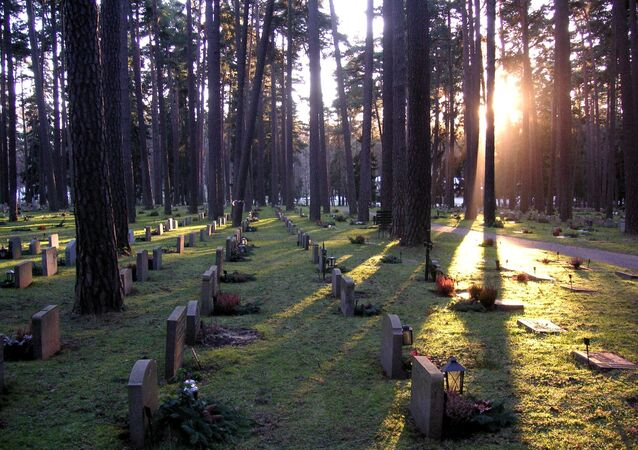 The Woodland Cemetery, Stockholm, Sweden