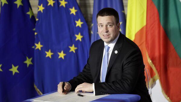 Estonian Prime Minister Juri Ratas - Sputnik International