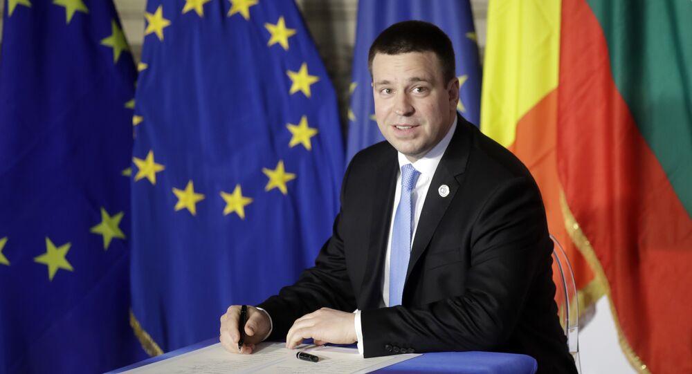 Estonia PM quits over corruption in party
