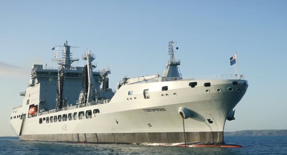 UK Navy's RFA Tidespring