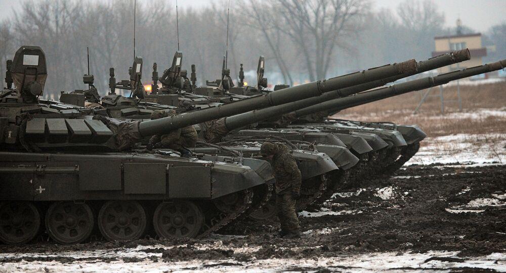 T-72 B3 tanks