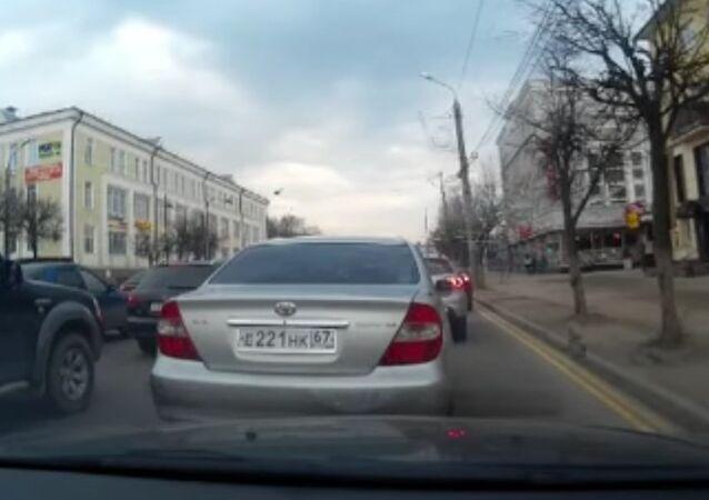 Attack of hares on Smolensk