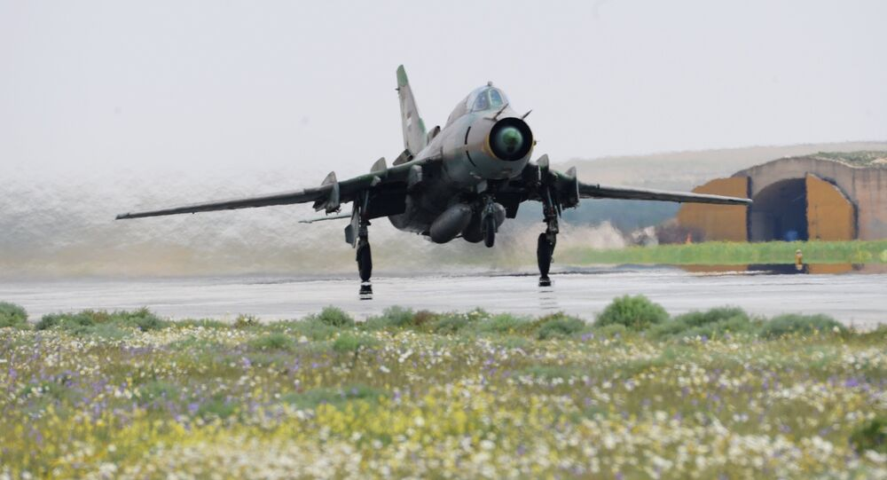Syrian Air Force Resumes Flights From US-Attacked Airfield