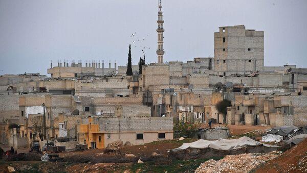 Buildings in Hama, Syria - Sputnik International