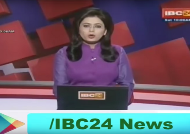 Indian News Anchor Learns of Husband's Death as She Reports it Live