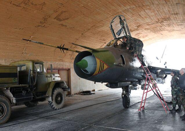 Syrian Air Forces resume flights from Ash Sha'irat air base