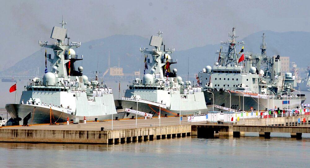 Chinese naval flotilla (File)