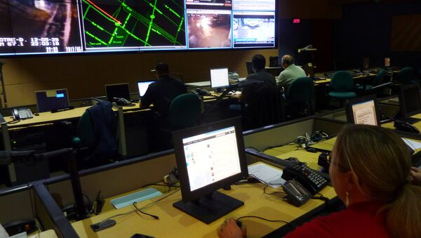 Montreal's police command center is seen on May 29, 2012 - Sputnik International