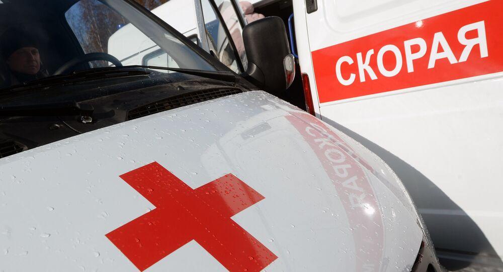 Ambulance vehicles. (File)