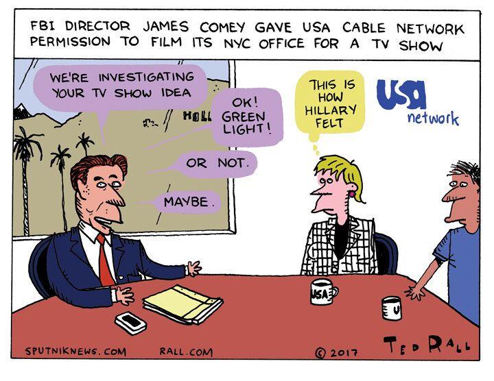 FBI Reality Show Cartoon