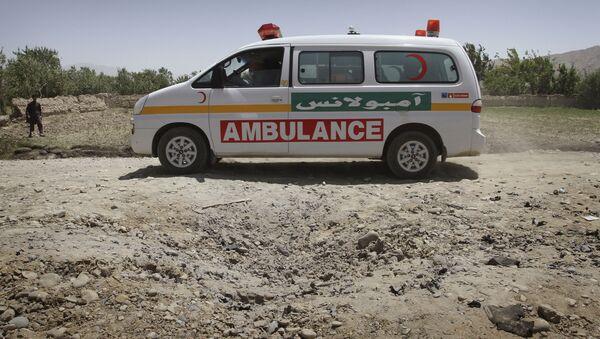Ambulance in Afghanistan. (File) - Sputnik International