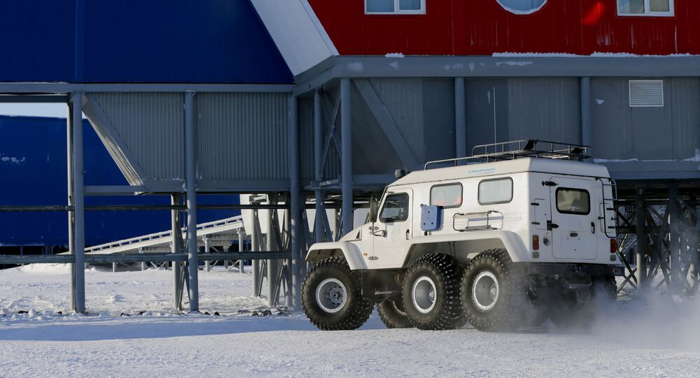 Base of the Russian Defense Ministry in Arctic