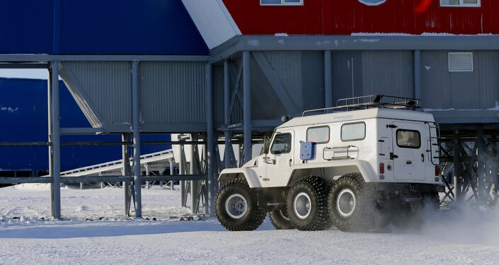 The Russian Defense Ministry's Arctic Trefoil base