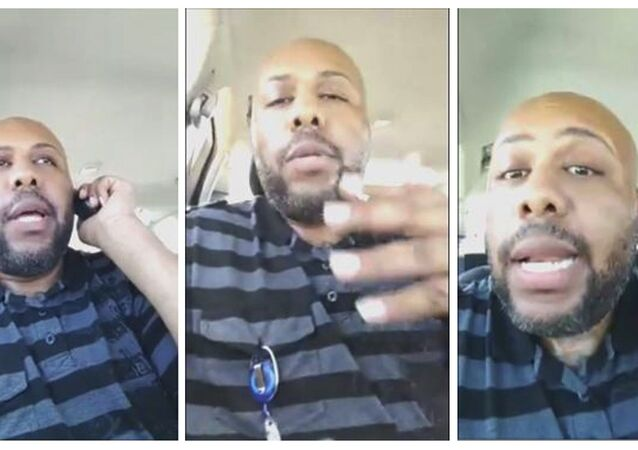 Still photos of Steve Stephens, a Cleveland, Ohio man, who filmed himself shooting and killing 74-year-old Robert Godwin, Sr.
