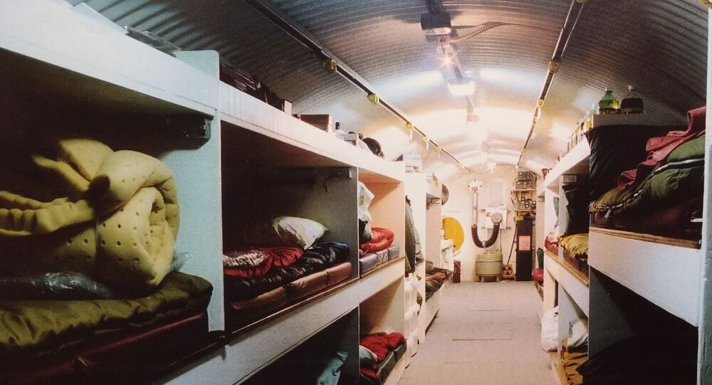 Paul Seyfried of Utah Shelter Systems' own personal nuclear bunker