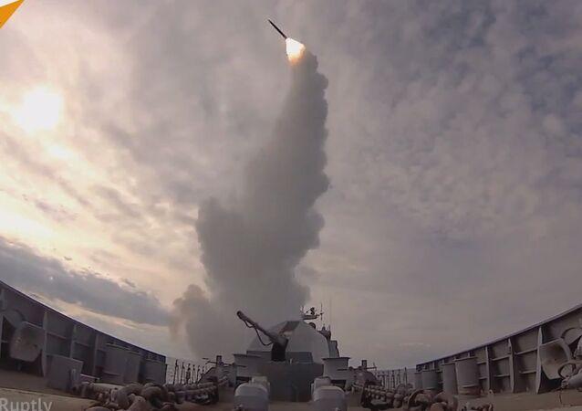 Russia's Baltic Fleet Drills