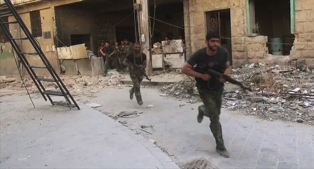 Syrian army soldiers. File photo