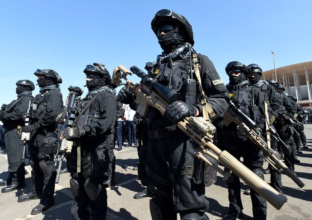 Brazilian army special forces (File)