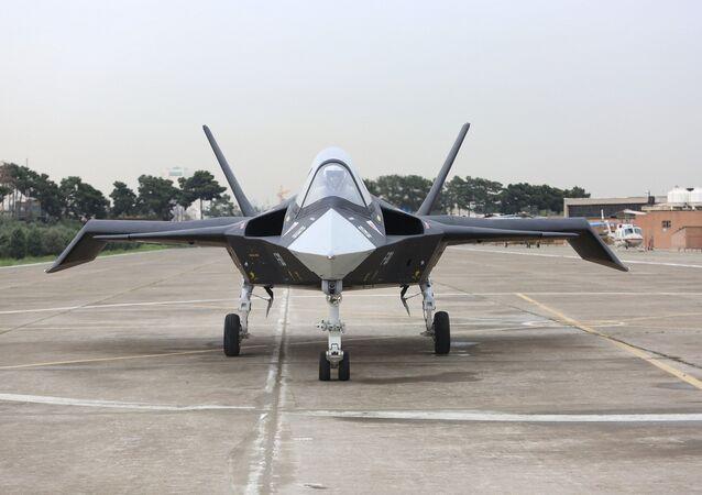 Iranian Qaher F-313 fighter jet