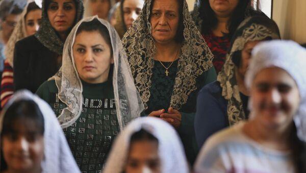 Assyrian Christian women. (File) - Sputnik International