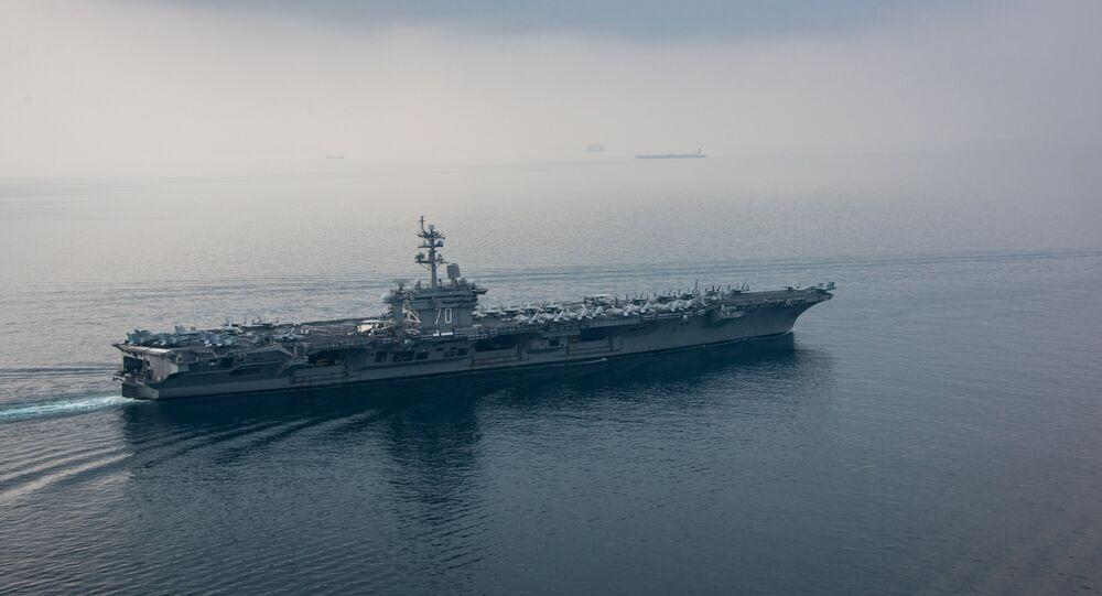 The aircraft carrier USS Carl Vinson (CVN 70)