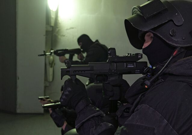 SOBR special police officers. (File)