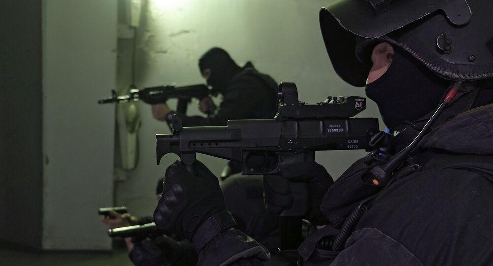 SOBR special police officers. (File)