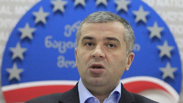 Leader of opposition United National Movement Party David Bakradze. (File) - Sputnik International