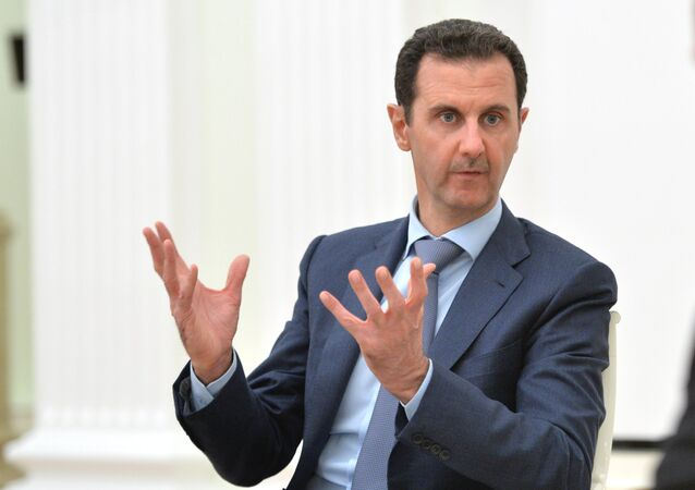 President of Syria Bashar al-Assad. (File)