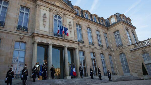 Guards of honor at the Elysee Palace, Paris - Sputnik International