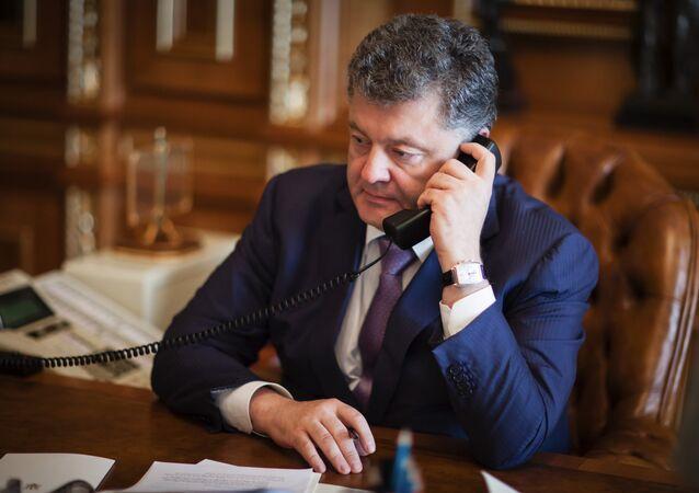 Ukrainian President Petro Poroshenko. (File)