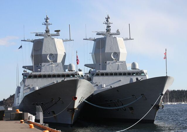 Frigates KNM Fridtjof Nansen and KNM Helge Ingstad, in Oslo