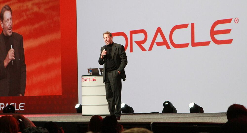 Larry Ellison, chairman of Oracle Corp