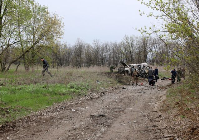 OSCE staff member killed in car explosion in Lugansk region