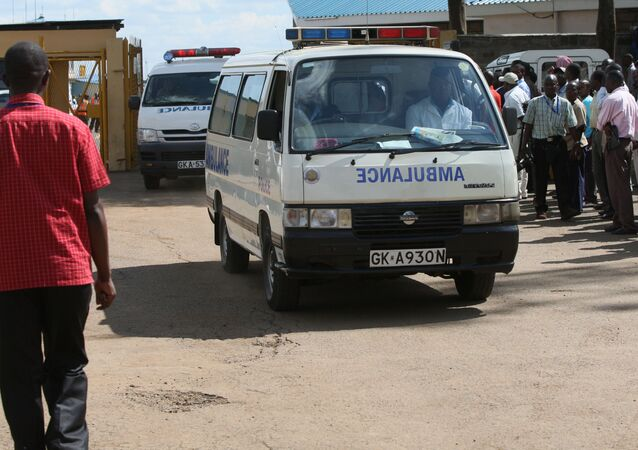 Ambulance in Kenya (File)